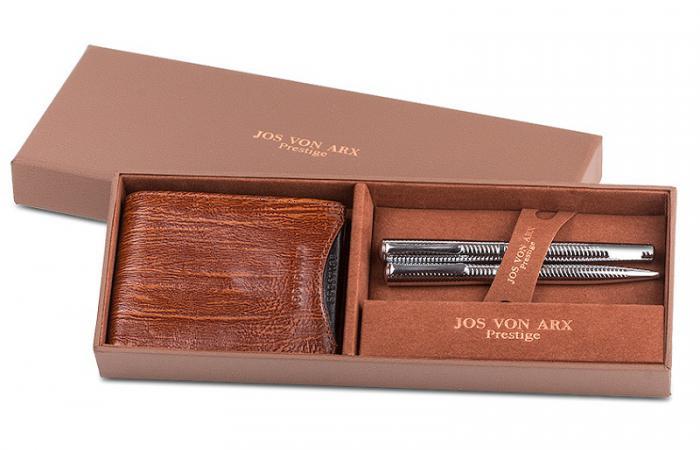 Silver & Brown Accessories by Jos von Arx 0