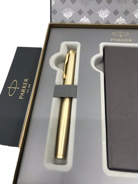 Business Parker Set Gold 23 kt. Brushed Metal-big