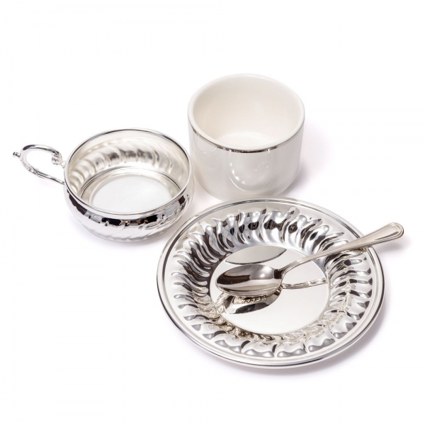 American Silver Coffee Set for Two by Chinelli-big