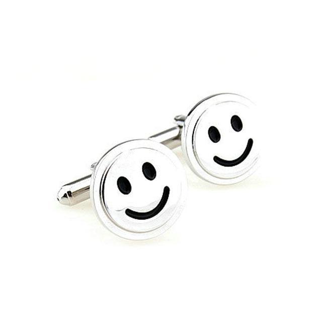 Butoni Borealy Happy Face Silver 2