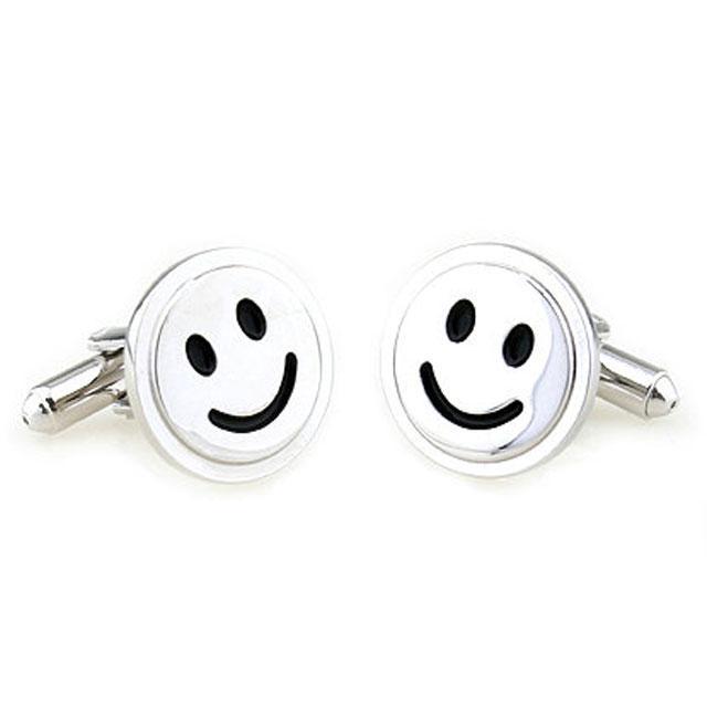 Butoni Borealy Happy Face Silver 0