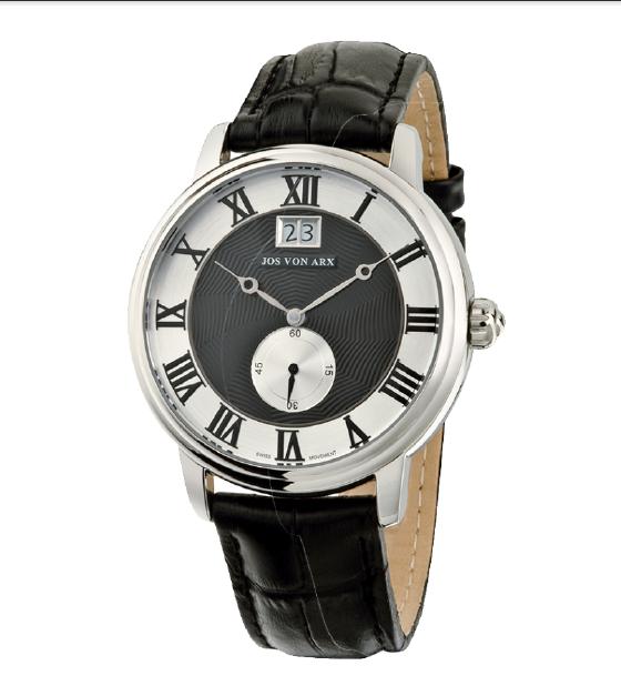 Small Second Watch Black&Silver Jos von Arx 1