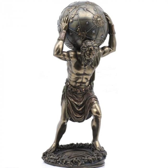 Statueta Atlas ce tine pe umeri bolta cereasca [0]