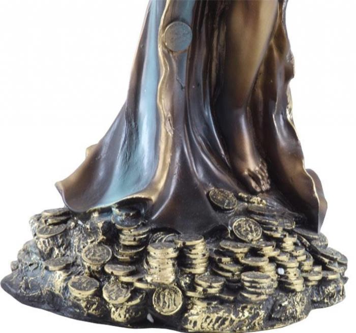 Statueta Zeiţa Fortuna - 25 cm înălţime-big