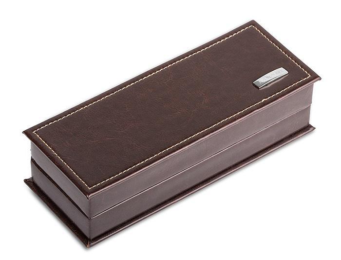 Brown Cardholder and Pen by Jos Von Arx 5