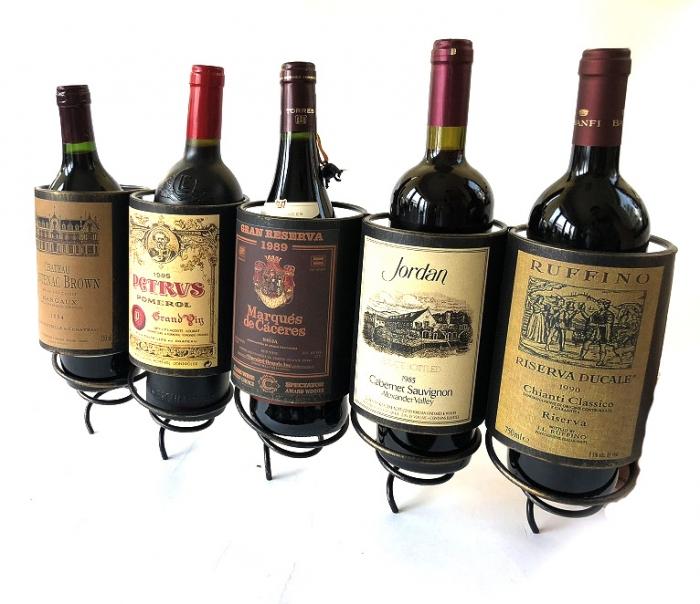 """Suport """"Cele mai scumpe sticle de vin in lume"""" 1"""