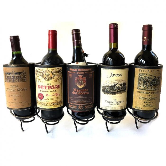 """Suport """"Cele mai scumpe sticle de vin in lume"""" 5"""