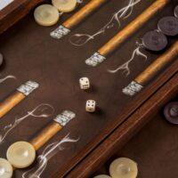 TABLE MANOPOULOS CREATIVE ROBUSTO CIGAR REPLICA LEMN [2]