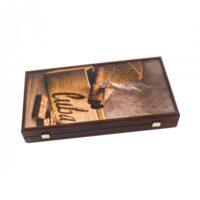 TABLE MANOPOULOS CREATIVE ROBUSTO CIGAR REPLICA LEMN [3]