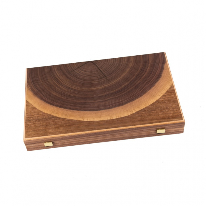 TABLE LUXURY - WALNUT NATURAL TREE TRUNK made in Greece by Manopoulos [6]