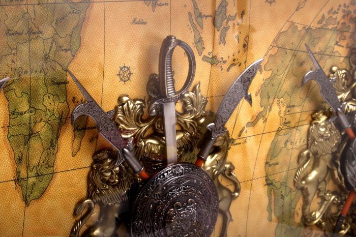 Tablou Vintage Swords 2