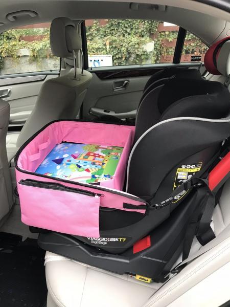 Masuta Calatorie / Tavita de copii pentru masina si carut KIDSMARTER. Perfecta pentru joaca, mancare, desen, cand sunteti pe drum. 3