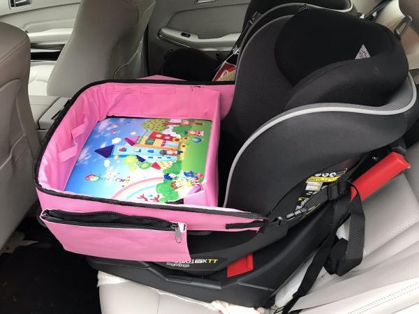 Masuta Calatorie / Tavita de copii pentru masina si carut KIDSMARTER. Perfecta pentru joaca, mancare, desen, cand sunteti pe drum. 0