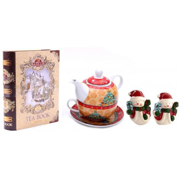 Tea for Santa + Decoratiuni de Craciun din Ceramica 0