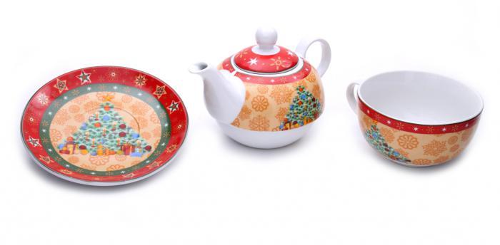 Tea for Santa + Decoratiuni de Craciun din Ceramica 3