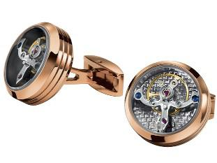 Butoni TF Est. 1968 Tourbillon Luxury - Placaţi cu aur roz - Made in Switzerland 4