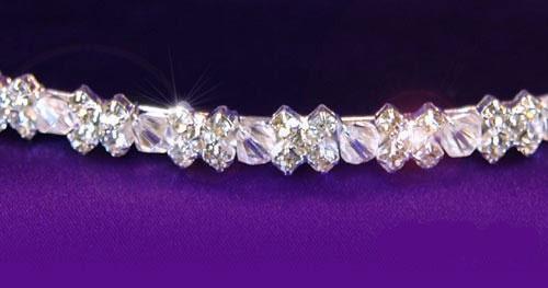 Tiara Borealy Bentita Delicate Bride Headband 0