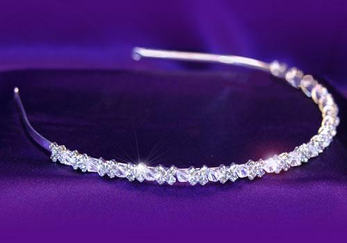 Tiara Borealy Bentita Delicate Bride Headband 1