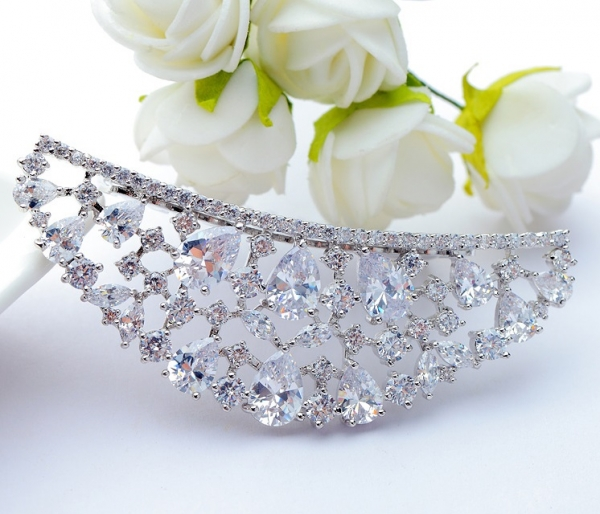 Tiara Borealy Luxury Bride Pieptane-big