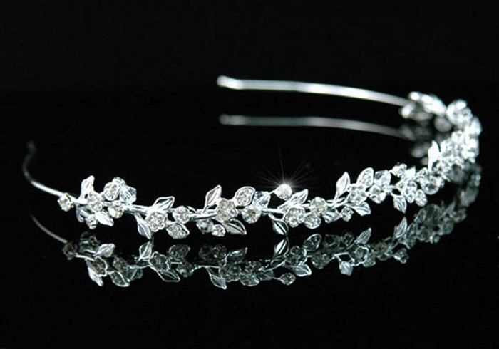 Tiara Bentita Borealy Wedding Flower Crystal [1]