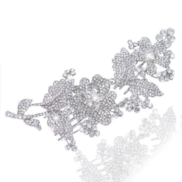 Agrafă Borealy Bride Flowers Luxury-big