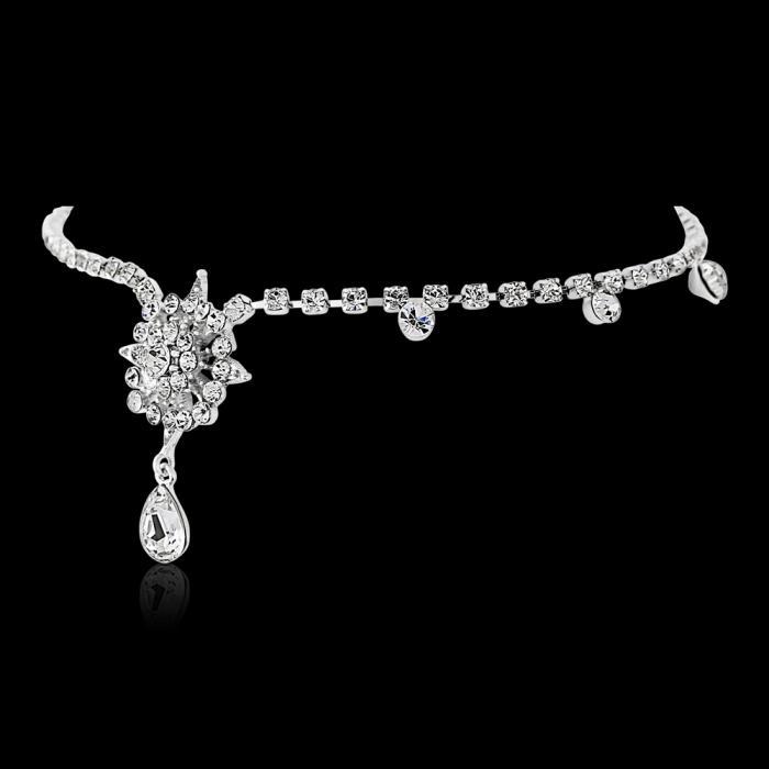 Tiara Borealy Crystal Chantilly Luxe Brow Band 2