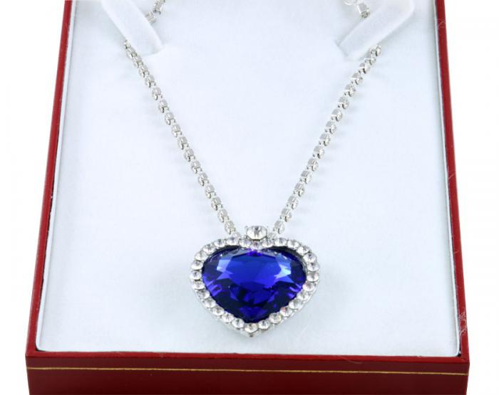 Titanic Heart Sapphire & Fifty Shades of Grey-big