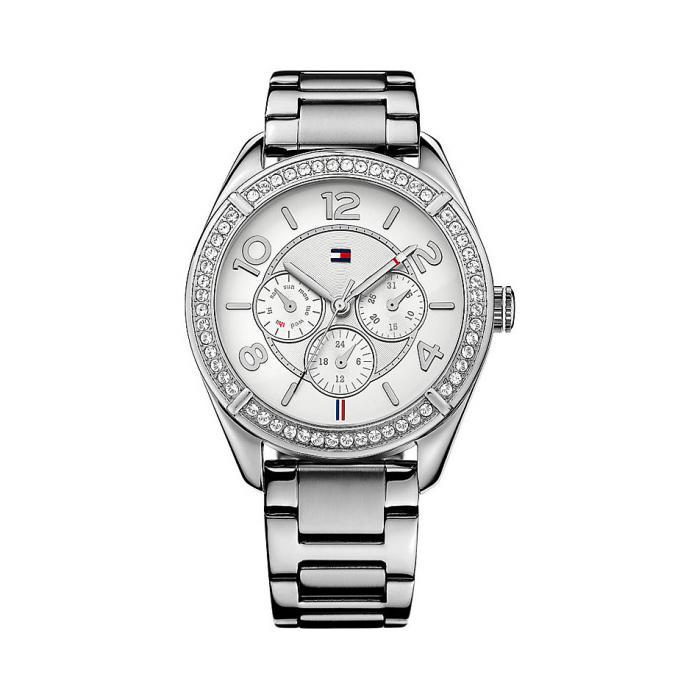 Tommy Hilfiger Lady Fashion Silver Bracelet Watch 0
