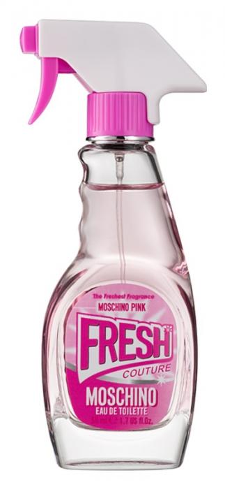 Trandafir Aur 24k & MOSCHINO Apa de toaleta Pink Fresh, 30 ml [1]