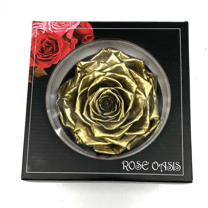 Trandafir Auriu Criogenat XXL 9 cm [1]