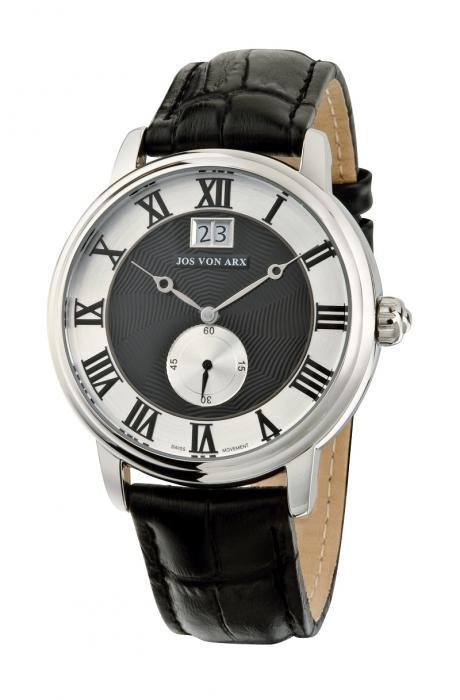 Small Second Watch Black&Silver Jos von Arx 0