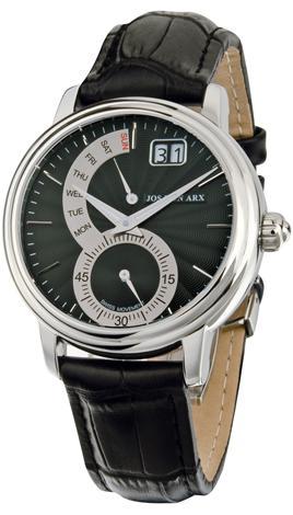 Retrograde Watch Black&Silver Jos von Arx 0