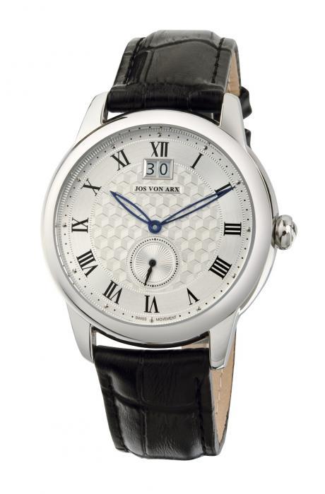 Watch Small Second White Jos von Arx-big