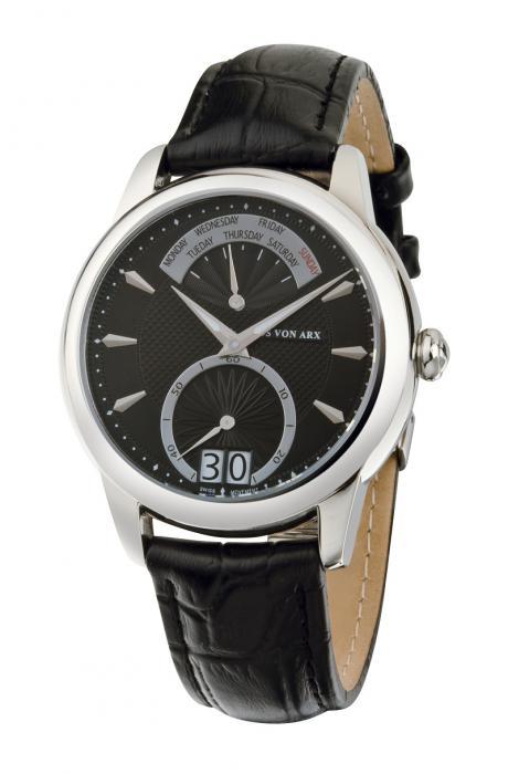 Watch Retrograde Black Jos von Arx 0