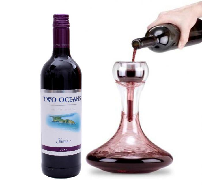 Two Oceans & Decanter - Aerator Gift Set 1