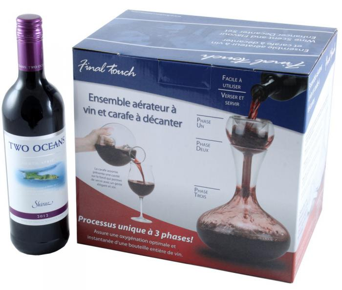 Two Oceans & Decanter - Aerator Gift Set 4