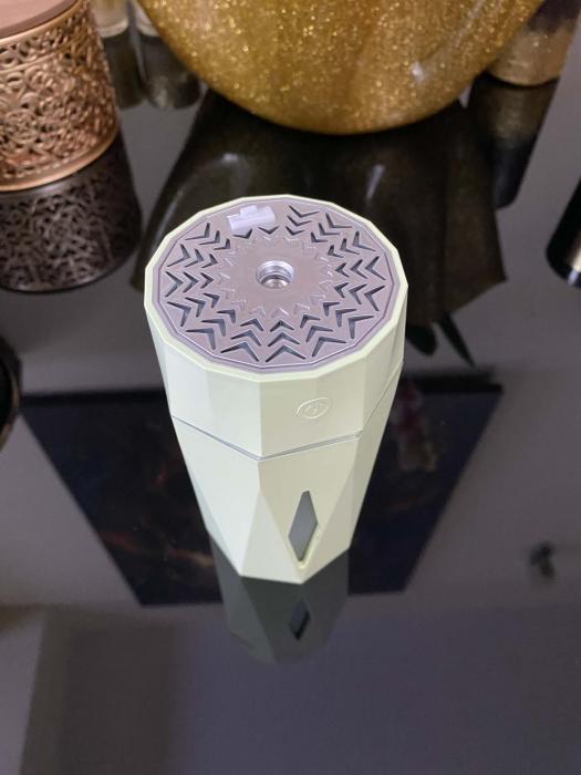 Umidificator Ultrasonic Diamond Shaped by Borealy, 7 x 15 cm [4]