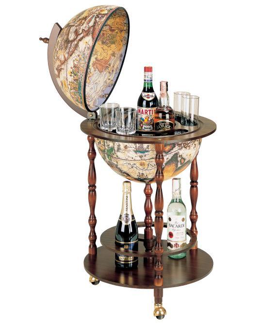 Vanesio Floor Globe Bar, by Zoffoli, made in Italy 0