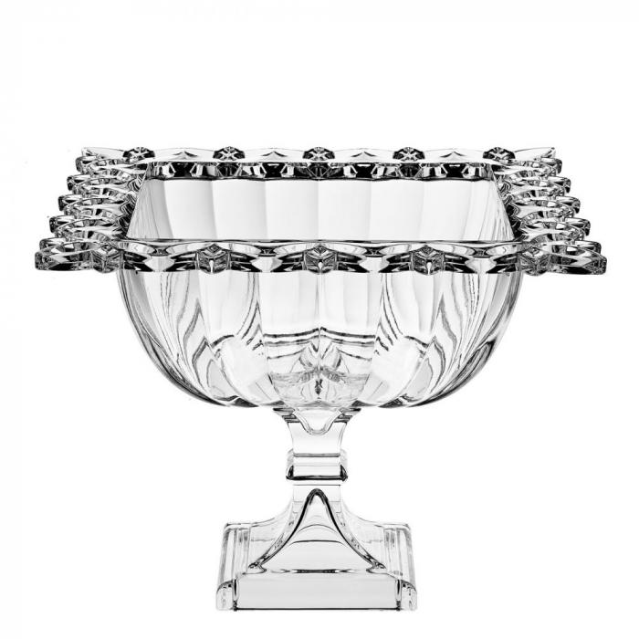 Fructiera din cristal BOHEMIA Opulence - 29,5 cm [0]