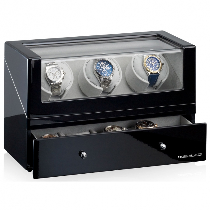 Watch Winder San Diego 3 by Designhütte – Made in Germany-big
