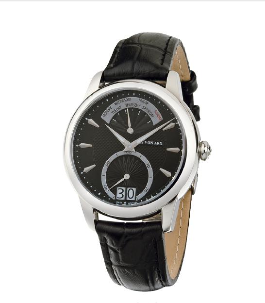 Watch Retrograde Black Jos von Arx 1