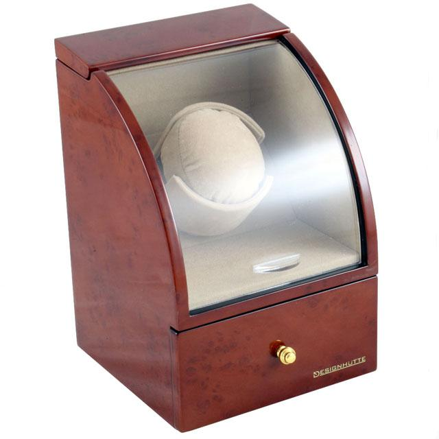 Watch Winder Basel 1 BROWN by Designhütte – Made in Germany 5