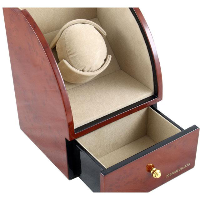 Watch Winder Basel 1 BROWN by Designhütte – Made in Germany 2