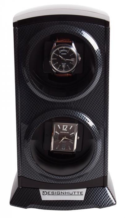Watch Winder by Designhutte seria Primus Karbon - Made in Germany-big