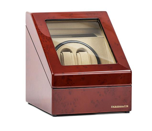 Watch Winder Monaco Brown 2 by Designhutte - Made in Germany - personalizabil-big