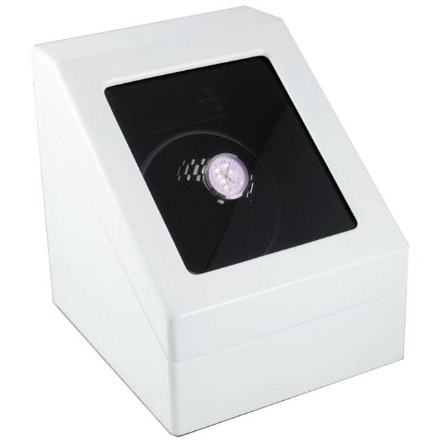 Watch Winder Monaco Weiss 2 White by Designhütte – Made in Germany 0