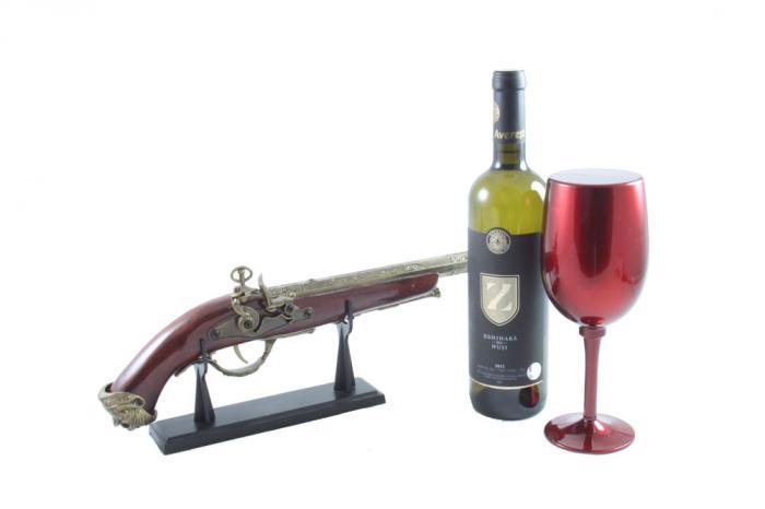 Wine Set & Vintage Gun-big