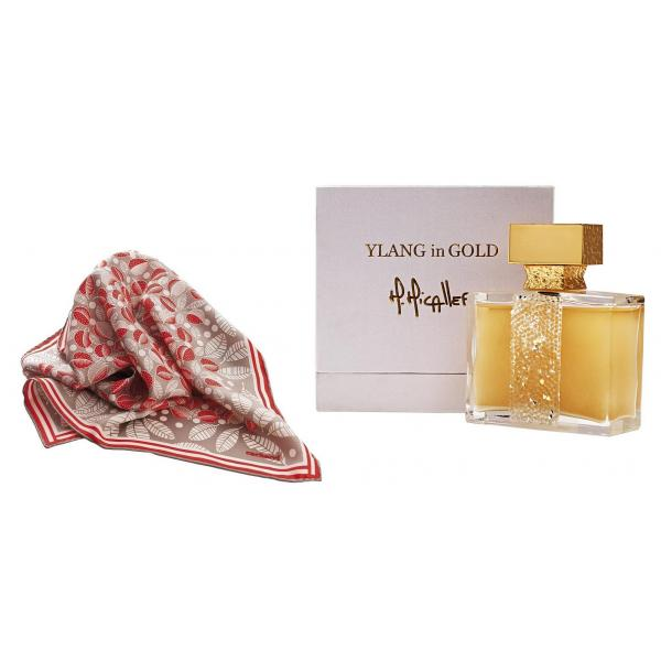 Set Ylang in Gold by M.Micallef - Eau de Parfume 100 Ml si Esarfa Cacharel-big