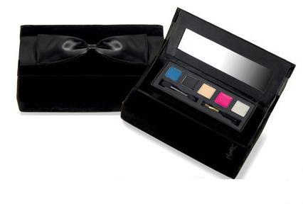 YSL Luxury Velvet Clutch 2
