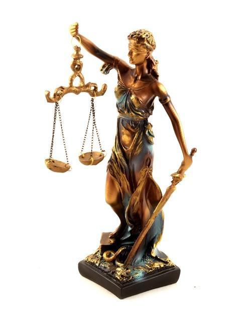 "Statueta ""Zeita Justitiei"" 30cm 0"